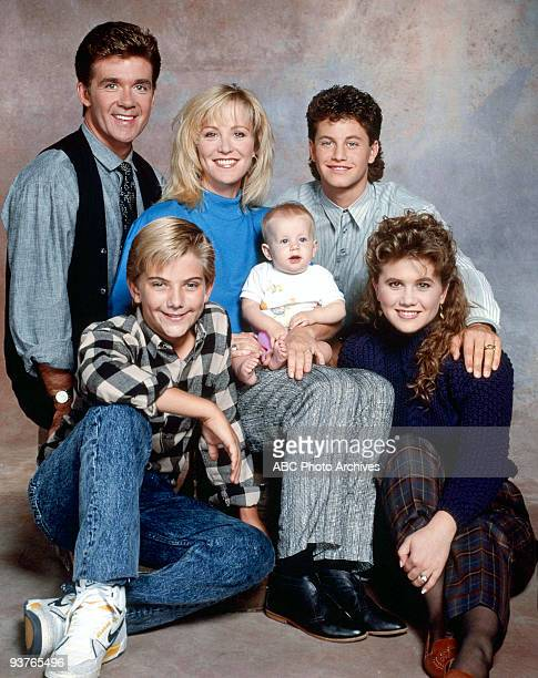 PAINS cast gallery Season Four 10/19/88 Alan Thicke Jeremy Miller Joanna Kerns Kristen/Kelsey Dohring Kirk Cameron and Tracey Gold