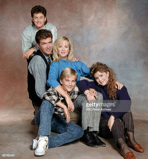 PAINS Cast gallery Season Four 10/19/88 Kirk Cameron Alan Thicke Joanna Kerns Jeremy Miller Tracey Gold