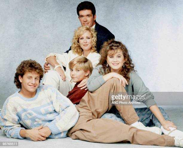 PAINS cast gallery Season Three 10/14/87 Kirk Cameron Jeremy Miller Joanna Kerns Alan Thicke Tracey Gold
