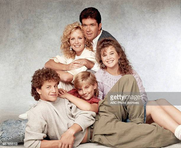 PAINS cast gallery Season Three 10/14/87 Kirk Cameron Joanna Kerns Jeremy Miller Alan Thicke Tracey Gold