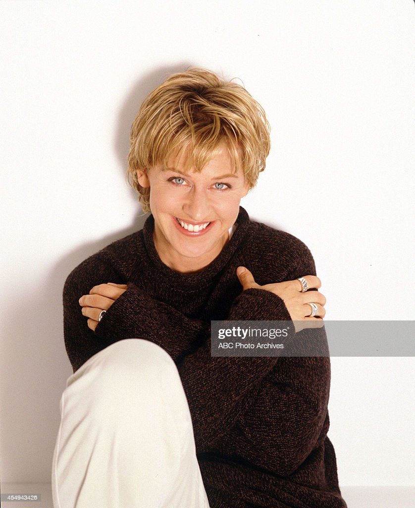 ELLEN DEGENERES : News Photo