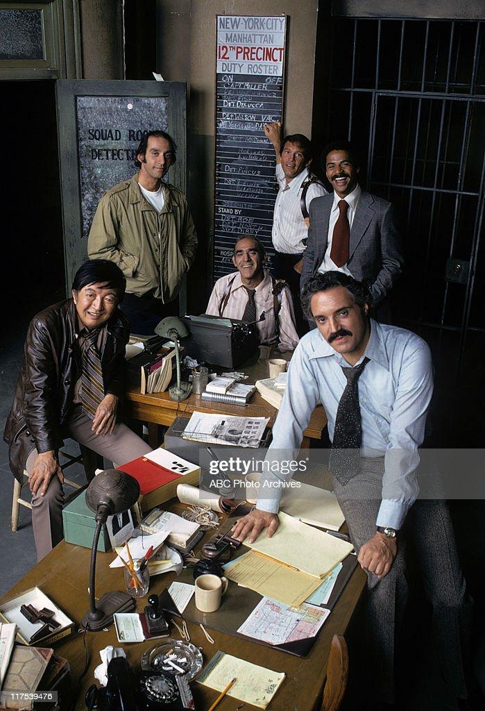 JACK SOO;GREGORY SIERRA;ABE VIGODA;MAX GAIL;HAL LINDEN;RON GLASS : News Photo