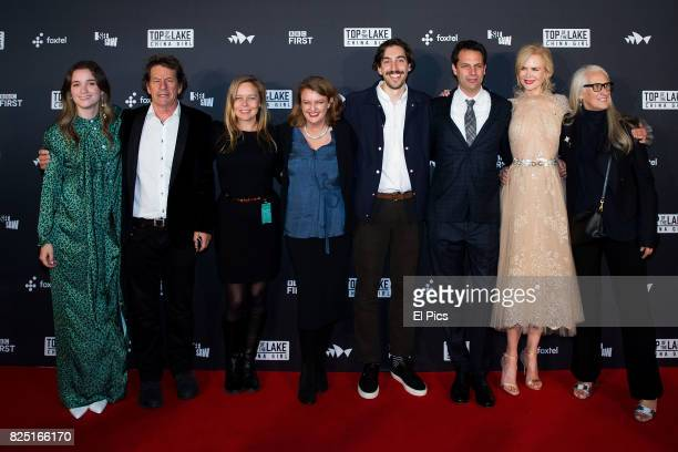 Cast including Nicole Kidman and Alice Englert and directors including Jane Campion arrive ahead of the Top of the Lake China Girl Australian...