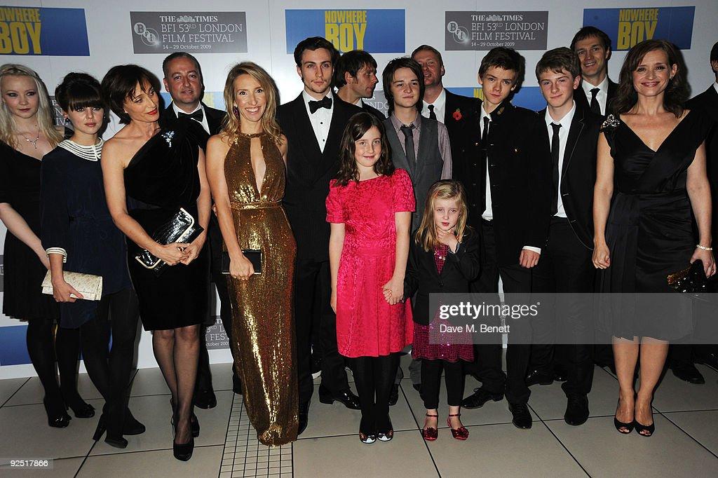 Nowhere Boy: Closing Gala Inside Arrivals - Times BFI London Film Festival : News Photo