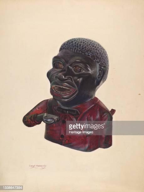 'Jolly Nigger', circa 1937. Artist Chris Makrenos.