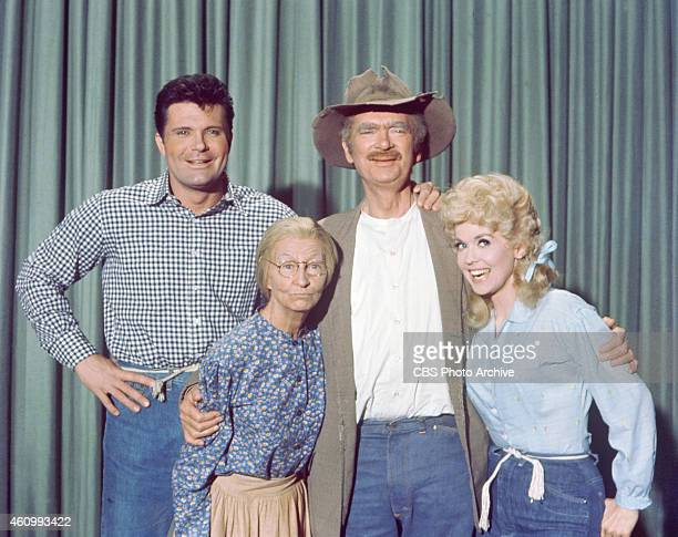 Max Baer Jr Irene Ryan Buddy Ebsen and Donna Douglas Image dated January 1 1963