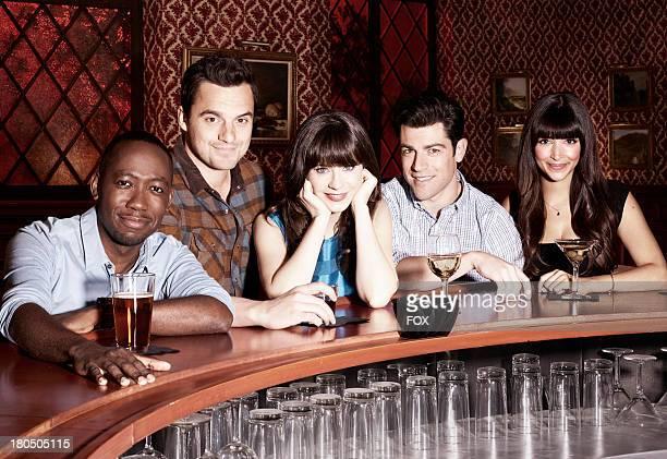 Lamorne Morris, Jake Johnson, Zooey Deschanel, Max Greenfield and Hannah Simone. The third season of NEW GIRL premieres Tuesday, Sept. 17 on FOX..