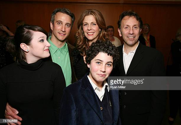 Cast Member actors Emma Hunton Bronson Pinchot Rita Wilson Hudson Thames and Director Leonard Foglia attend the party for the World Premiere of Lisa...