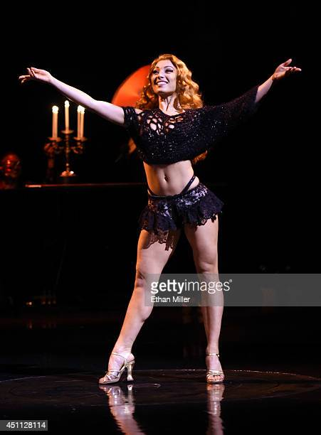 Cast member Agnes Roux performs during a preview for NeNe Leakes' 10show guest engagement as The Mistress of Sensuality in Zumanity The Sensual Side...