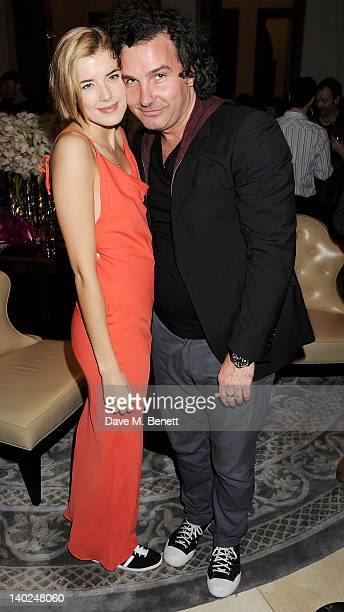 Cast member Agyness Deyn and Ant Genn attend an after party celebrating the press night performance of 'The Leisure Society' at Corinthia Hotel...