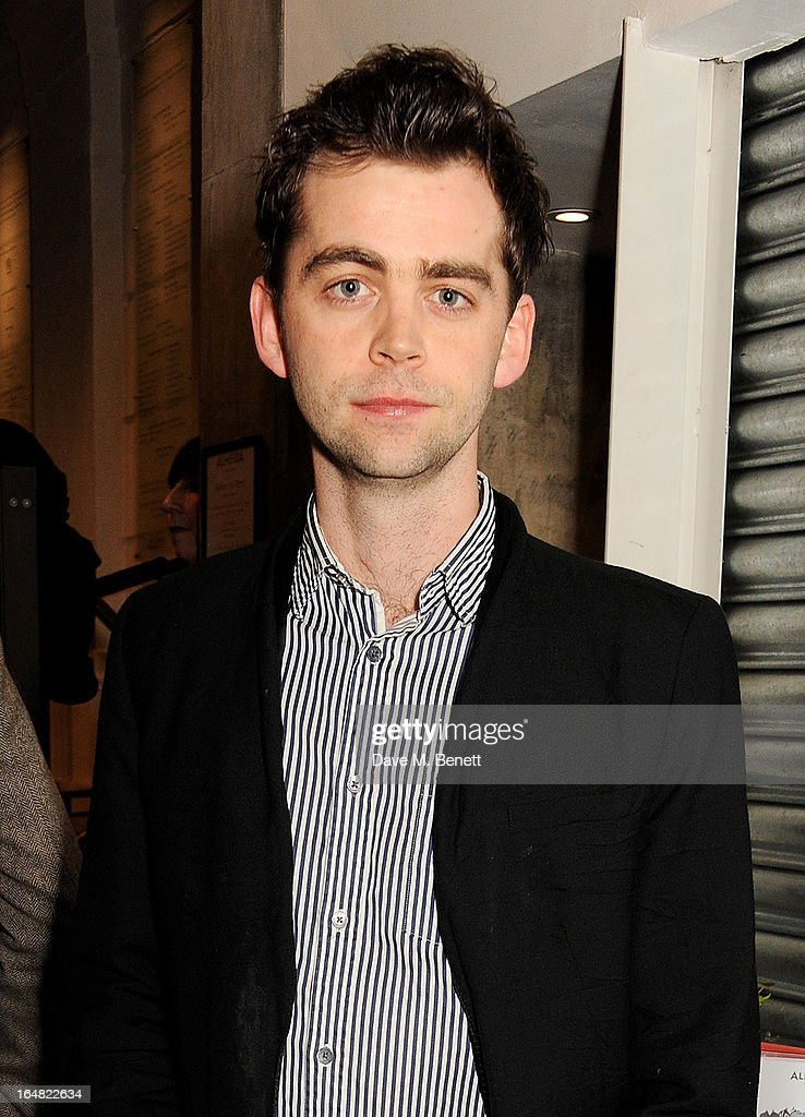 Cast member Alex Price attends an after party following the press night performance of 'Before The Party' at the Almeida Theatre on March 28, 2013 in London, England.