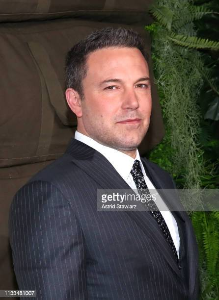 Cast member Ben Affleck attends Netflix World Premiere of TRIPLE FRONTIER at Lincoln Center on March 03, 2019 in New York City.