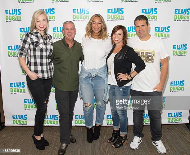 Elvis Duran Morning Show Cast Stock Photos and Pictures ...
