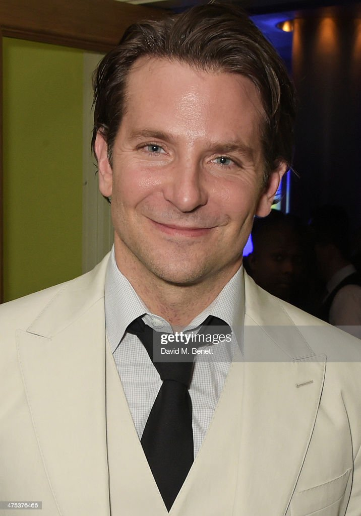 Cast member Bradley Cooper attends an after party celebrating the VIP Gala Preview of 'The Elephant Man' at The Haymarket Hotel on May 26, 2015 in London, England.