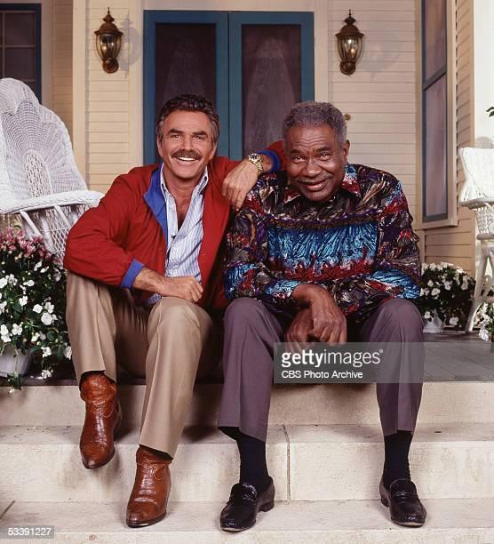 SHADE cast member Burt Reynolds and Ossie Davis Image dated 1991