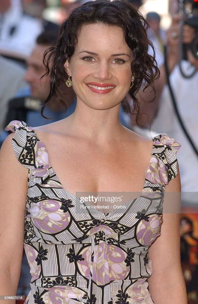 Cast Member Carla Gugino Arrives At The Premiere Of Spy