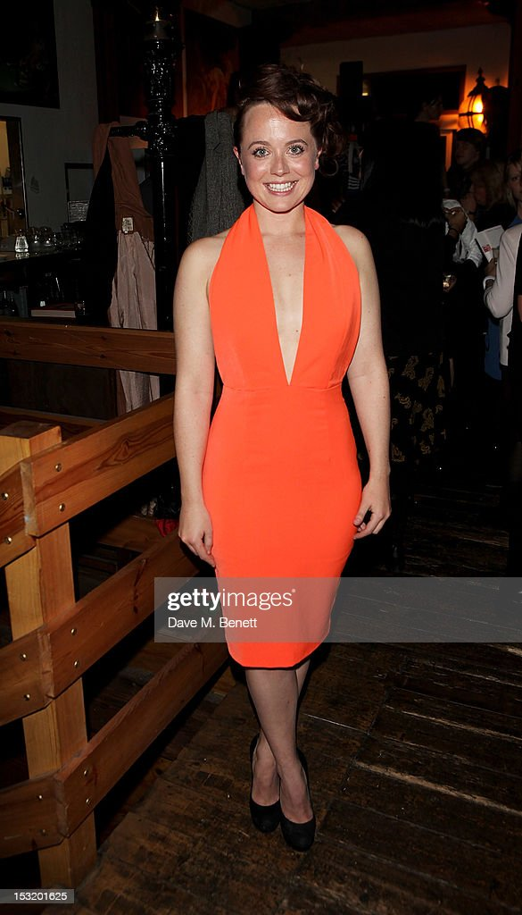Cast member Charlie Clemmow attends an after party following the press night performance of 'Charley's Aunt' at Menier Chocolate Factory on October 1, 2012 in London, England.