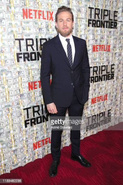 Cast member Charlie Hunnam attends Netflix World Premiere of TRIPLE FRONTIER at Lincoln Center on March 03 2019 in New York City