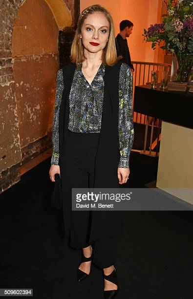 Cast member Christina Cole attends an after party celebrating the World Premiere of 'The End Of Longing' written by and starring Matthew Perry on...