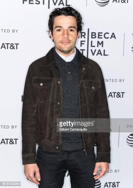 Cast member Christopher Abbott attends 'The Sinner' premiere during 2017 Tribeca Film Festival at SVA Theatre on April 25 2017 in New York City