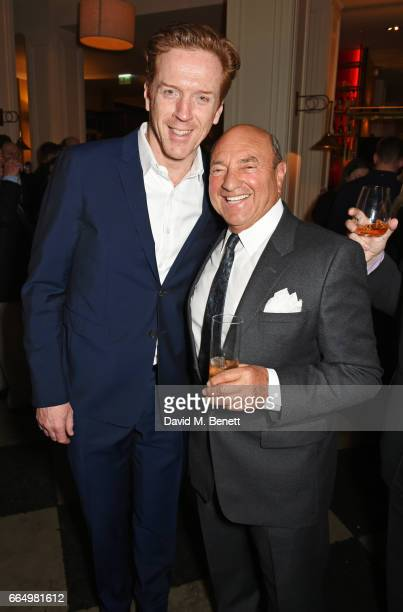 Cast member Damian Lewis and Arnold Crook attend the press night after party for Edward Albee's The Goat Or Who Is Sylvia at Villandry on April 5...