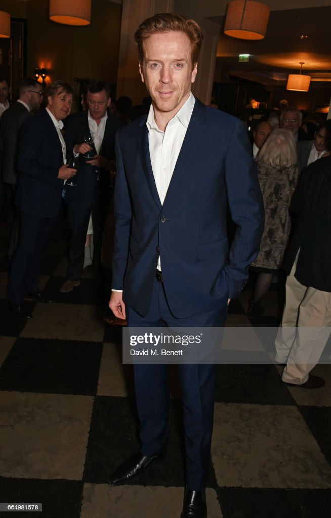 Cast member Damian Lewis attends the press night after party for Edward Albee's 'The Goat, Or Who Is Sylvia?' at Villandry on April 5, 2017 in London, England.