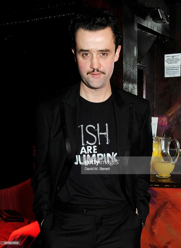 Cast member Daniel Mays attends an after party celebrating the press night performance of 'Mojo' at Cafe de Paris on November 13, 2013 in London, England.