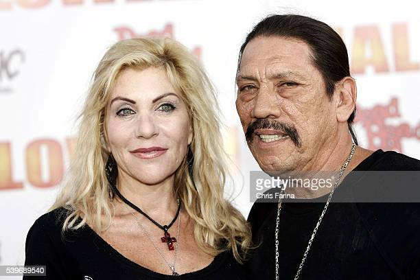 Cast member Danny Trejo and wife Debbie attend the world premiere of Halloween at the Grauman's Chinese Theatre in Hollywood
