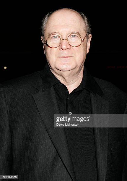 Cast member David Ogden Stiers poses at the Music Box after party following opening night of Irving Berlin's 'White Christmas' on November 28 2005 in...