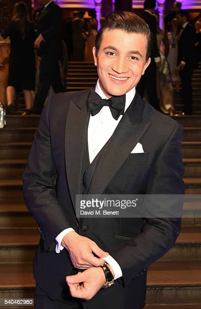 Cast member Dean JohnWilson attends the press night after party for Disney's 'Aladdin' at The National Gallery on June 15 2016 in London England