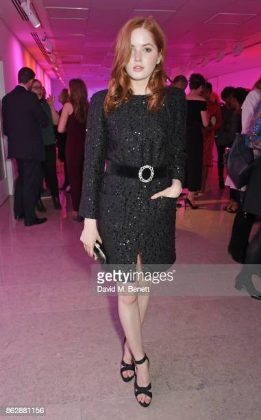 Cast member Ellie Bamber attends the press night after party for 'The Lady From The Sea' at The Hospital Club on October 18 2017 in London England