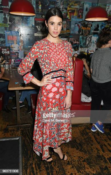 Cast member Gala Gordon attends the press night after party for Blueberry Toast at the Soho Theatre on May 30 2018 in London England