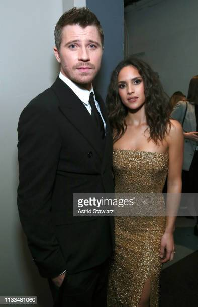 Cast member Garrett Hedlund Cast member Adria Arjona attend Netflix World Premiere of TRIPLE FRONTIER at Lincoln Center on March 03 2019 in New York...