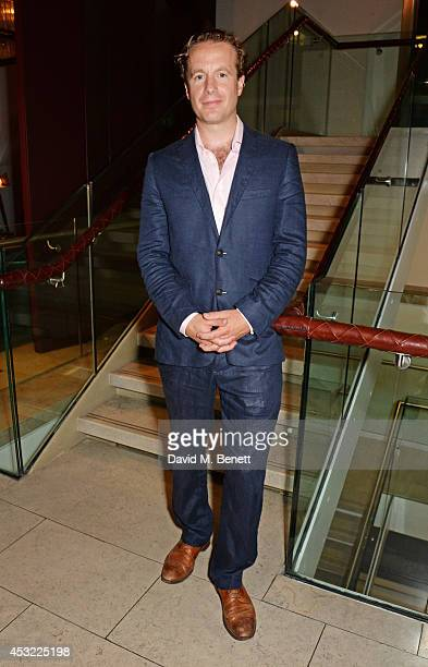 """Cast member Geoffrey Streatfeild attends an after party following the press night performance of """"My Night With Reg"""", playing at The Donmar..."""