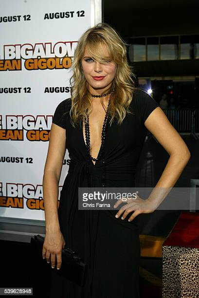 Cast member Hanna Verboom attends the Deuce Bigalow European Gigolo premiere at the Palms Hotel in Las Vegas