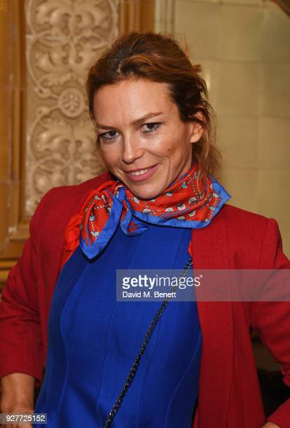 Cast member Honeysuckle Weeks attends the press night after party for The Best Man at The Royal Horseguards Hotel on March 5 2018 in London England
