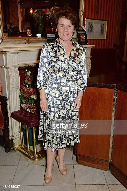 Cast member Imelda Staunton attends the press night performance of Good People at the Noel Coward Theatre on April 15 2014 in London England