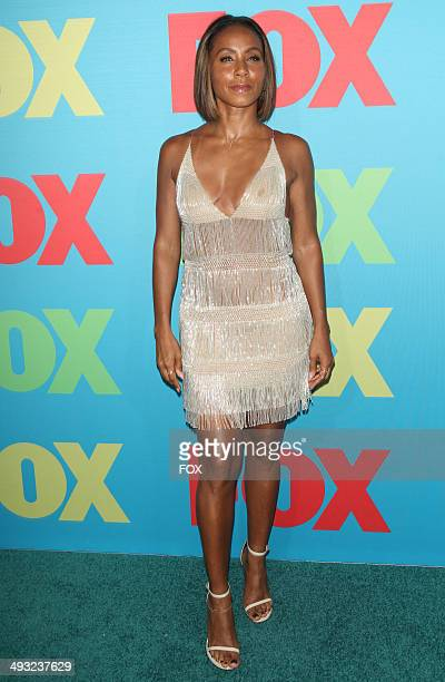 GOTHAM cast member Jada Pinkett Smith during the FOX 2014 FANFRONT event at The Beacon Theatre in NY on Monday May 12 2014