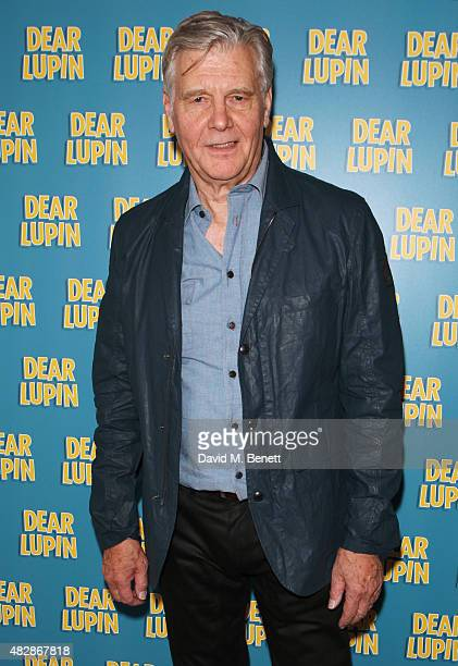 Cast member James Fox attends an after party following the press night performance of Dear Lupin at the Ham Yard Hotel on August 3 2015 in London...