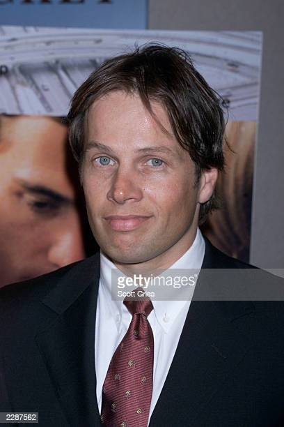 Cast member James Legros arrives at the premiere of World Traveler at the Chelsea West Cinemas in New York City 4/15/02 Photo by Scott Gries/Getty...