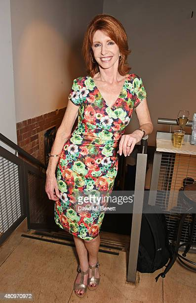 Cast member Jane Asher attends the press night performance of 'The Gathered Leaves' at the Park Theatre on July 16 2015 in London England