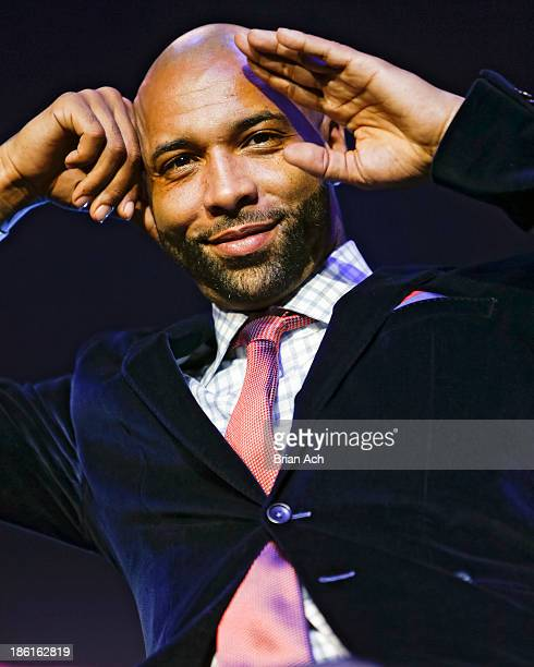 Cast member Joe Budden appears at the VH1 'Love Hip Hop' Season 4 Premiere at Stage 48 on October 28 2013 in New York City