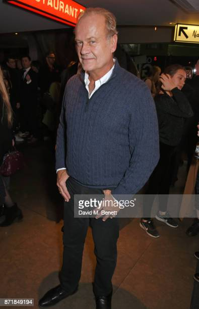 Cast member Kelsey Grammer attends the press night after party for 'Big Fish The Musical' at The Other Palace on November 8 2017 in London England