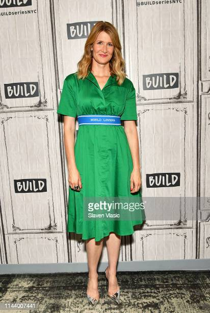 Cast member Laura Dern visits Build Series to discuss her new film Trial By Fire at Build Studio on May 15 2019 in New York City