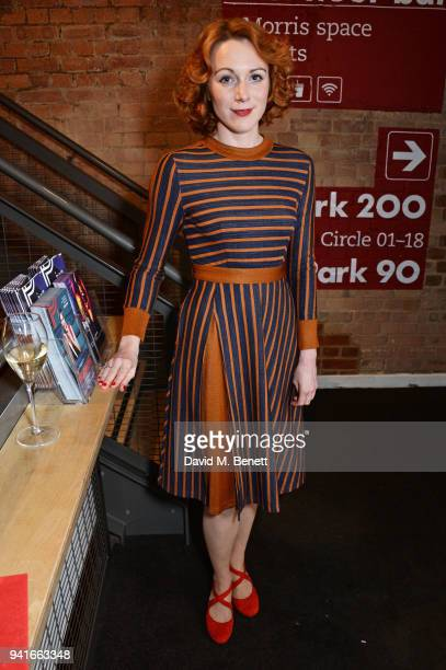 Cast member Laura Rogers attends the press night performance of Pressure at The Park Theatre on April 3 2018 in London England