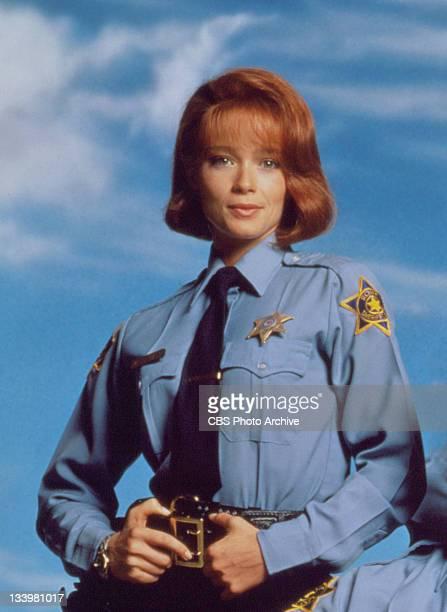 FENCES cast member Lauren Holly as Officer Maxine Stewart
