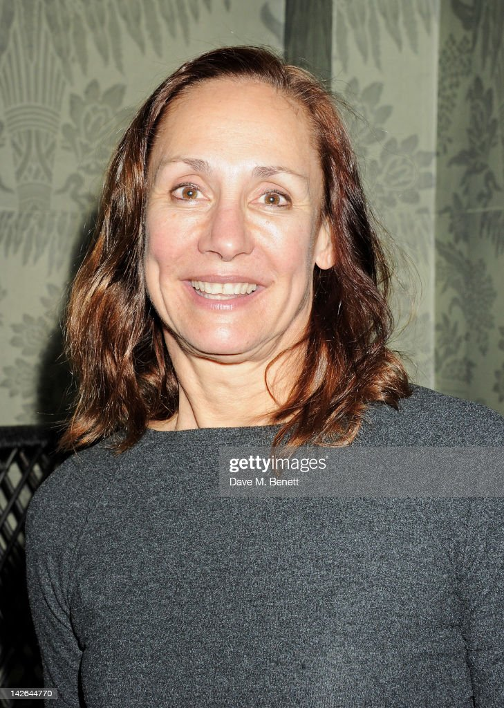 Cast member Laurie Metcalf attends an after party celebrating the press night performance of 'Long Day's Journey Into Night', playing at The Apollo Theatre, at Kettner's on April 10, 2012 in London, England.