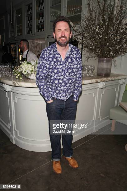 Cast member Lee Mack attends the press night after party for The Miser at The National Portrait Gallery on March 10 2017 in London England