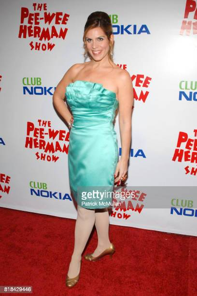 Cast member Lori Alan attends The Pee Wee Herman Show Opening Night at Club Nokia on January 20 2010 in Los Angeles California