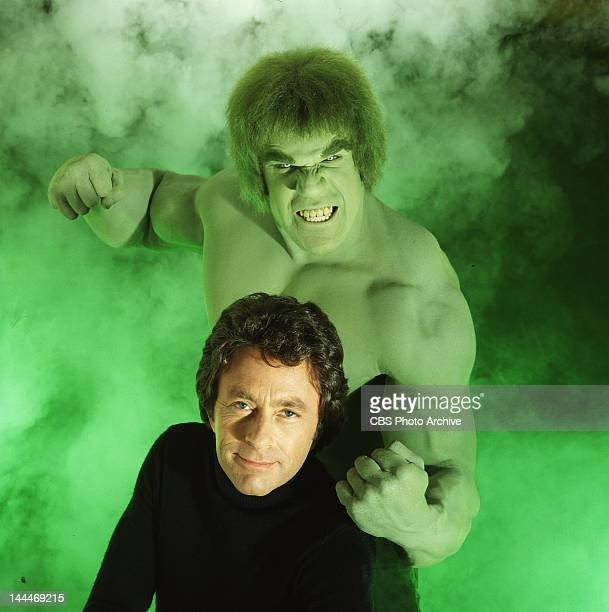 HULK cast member Lou Ferrigno as the 'Hulk' and Bill Bixby as David Bruce Banner The television program originally aired on CBS from March 1978 to...